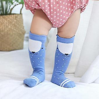 Beinwärmer süße Baby winzige Neugeborene gestrickte Baumwolle Mischung Knie Cartoon Socke