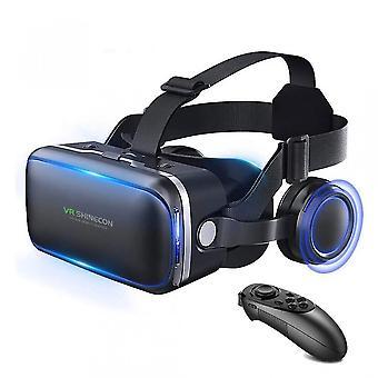 Vrshinecon Vr Headset For Phone Virtual Reality Goggles(G04E 052)