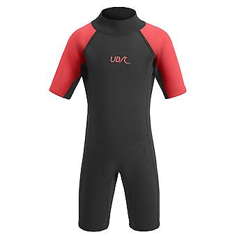 Urban Beach Sharptooth Shorty Triathlon Junior Uinti Märkäpuku Musta/Punainen