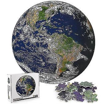 Jigsaw puzzles 1000piece earth jigsaw educational learning assembling jigsaw toys gift #4867