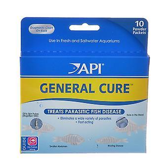 API General Cure Powder - 10 Packets - (325 mg Each)