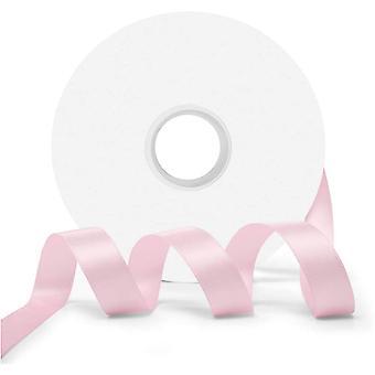 25m Blossom Pink 10mm bredt satinbånd til håndværk