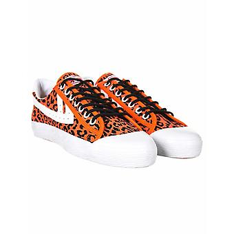 Obey Clothing X Warrior Lo Trainers - Leopard Ember