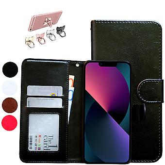 Iphone 13 Mini - Lederen hoesje / hoesje