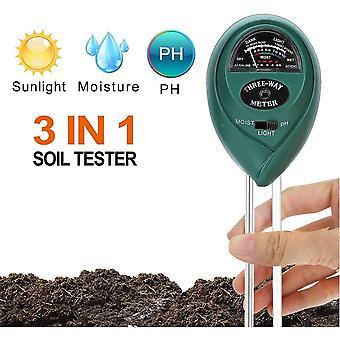 Sands soils soil ph meter  3-in-1 soil tester moisture light ph value hygrometer
