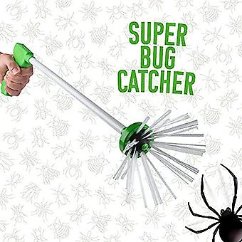 Bug Pest Spider Catcher - Extra Long Handle With Bristles To Safely Trap Insects And Bugs - Stay At Arms Length And Easily Trap Bugs For Indoor And Ou