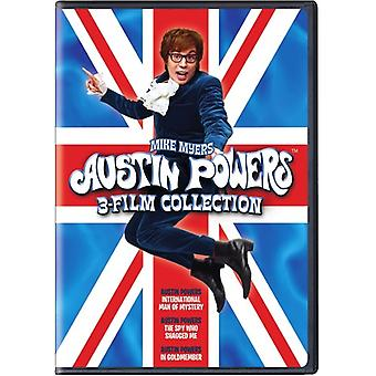 Austin Powers 1-3 Collection [DVD] USA import