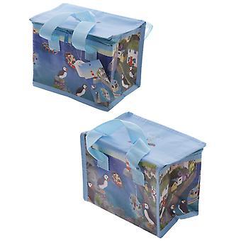 Jan Pashley cool bag Puffin 21 x 16 x 13 cm