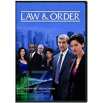 Law & Order: The Seventeenth Year [DVD] USA import