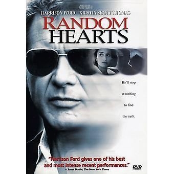 Slumpmässiga hjärtan [DVD] USA import