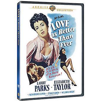 Importer des USA de l'amour est Better Than Ever [DVD]