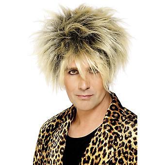 80s wig włosy suszarka do włosów Rod gwiazdy pop