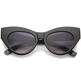 Womens High Fashion Chunky Frame Oversize Bold Cat Eye Sunglasses 57mm