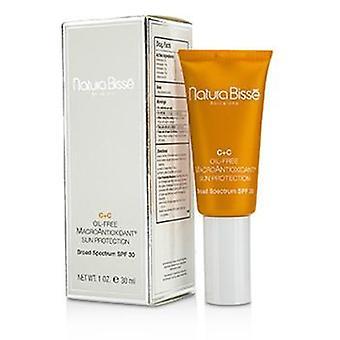 Natura Bisse C+c  Oil-free Macroantioxidant Sun Protcetion Spf 30 - 30ml/1oz