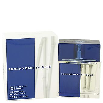 Armand Basi Basi In blauwe Eau de Toilette 50ml EDT Spray