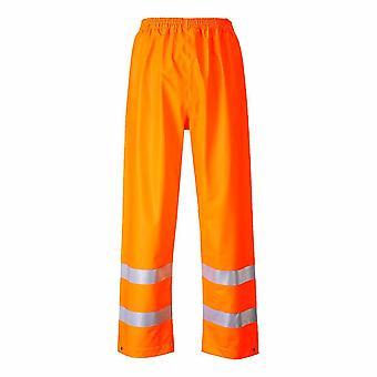 Portwest - Sealtex Flame Resist Safety Workwear Hi-Vis Waterproof Trouser