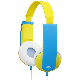 JVC Tiny Phones Kids Stereo Headphones - Yellow (HAKD5Y)
