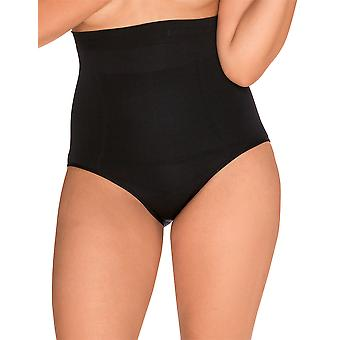 Sans Complexe 619153 vrouwen Slimmers zwarte firma/Medium controle inwikkeling Shaping Hoge Taille slip