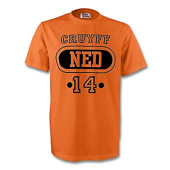 Johan Cruyff Holland Ned T-shirt (orange)