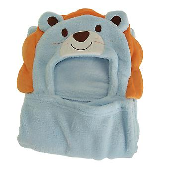 Snuggle Baby Boys Supersoft Lion Baby Wrap