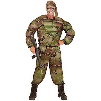Super soldat (Muscle Shirt pantalon bandeau)