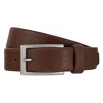 BALDESSARINI ceinture cuir ceintures hommes ceintures en cuir brun 6493