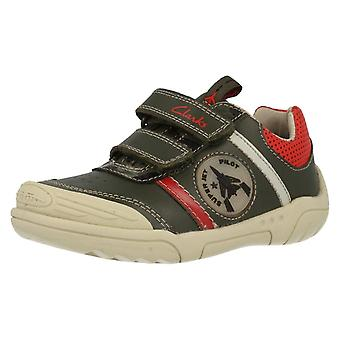 Boys Clarks Casual Shoes Wing Time
