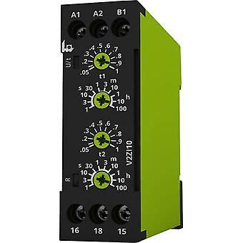 tele V2ZI10 12-240V AC/DC TDR Multifunction 1 pc(s) Time range: 0.05 s - 100 h 1 change-over