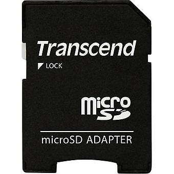 Transcend 12-6252 SD card adapter Adapted from: microSD card Adapted to: SD card