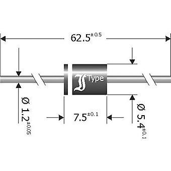 Diotec Schottky barrier rectifier SB840 DO 201 40 V 8 A