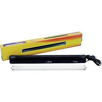 Eurolite 45 cm Slim UV & Weiss UV-Leuchtstoffröhrenset Leuchtstoffröhre 15 W Weiß