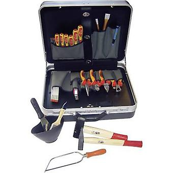 NWS 321K-1 Electrical contractors Tool box (+ tools) 23-piece (L x W x H) 460 x 160 x 360 mm