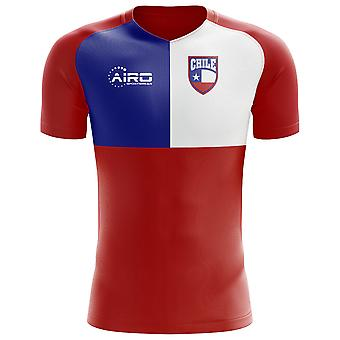 2020-2021 Chile Flag Concept Football Shirt