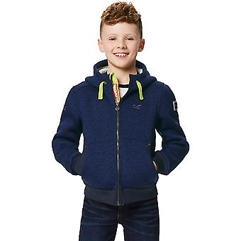 Regatta Boys & Girls Adeon Polyester Bonded Fleece Lined Hooded Jacket