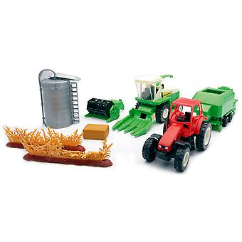 Country Life Harvester Farming Playset