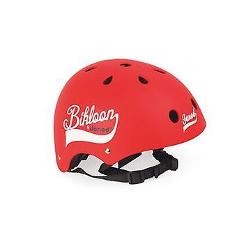 Janod Matte Red Helmet 3-6 yrs