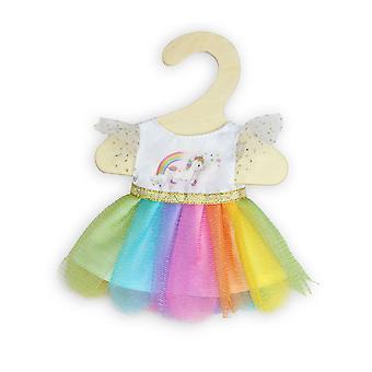 Puppen Kleid Einhorn, 20-25 cm