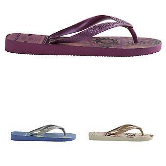 Womens Havaianas Spring Beach Summer Lightweight Rubber Flip Flops Sandal
