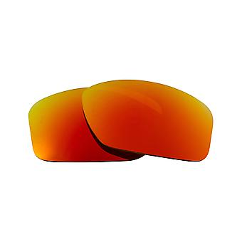 Polarized Replacement Lenses for Oakley Valve Sunglasses Red Mirror Anti-Scratch Anti-Glare UV400 by SeekOptics