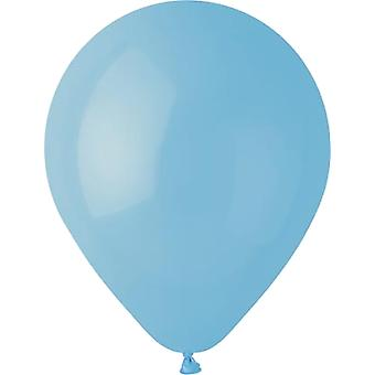 Baby Blue Premium latex ilma pallot 25-pakkaus