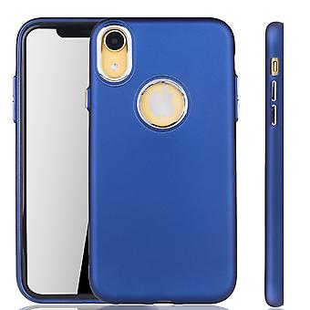 Del iPhone de Apple azul oscuro XR - caja del teléfono celular para el caso de teléfono celular Apple iPhone XR-