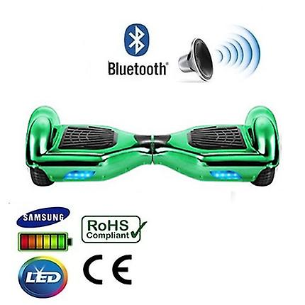 "6,5 ""gröna Chrome Bluetooth Segway Hoverboard"