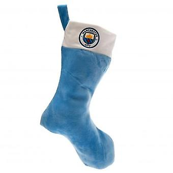 Manchester City Christmas Stocking