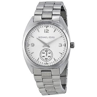 Michael Kors Callie Wrist Watch Stainless Steel Strap Silver Dial MK3342