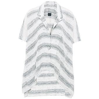 Crea Concept Oversized linnen Pinstripe Shirt