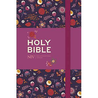 NIV Pocket Floral Notebook Bible - New International Version by New In
