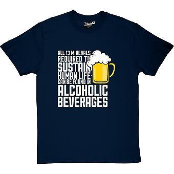 Camiseta todos trece minerales hombres