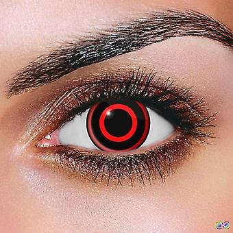 Bullseye Contact Lenses (Pair)