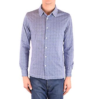 Altea Ezbc048098 Men's Blue Cotton Shirt