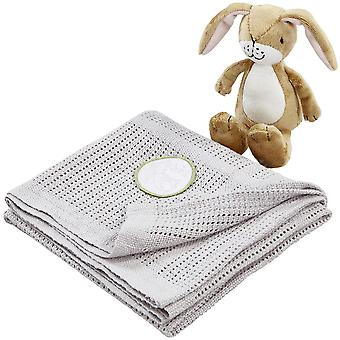 Rainbow Designs Guess How Much I Love You Soft Toy & Blanket Gift Set